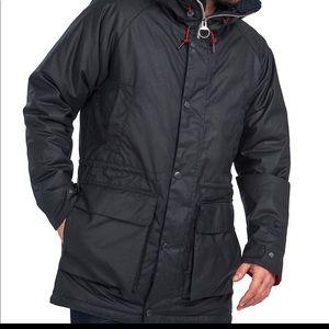 NWT Barbour North Sea Wax Parka black XL